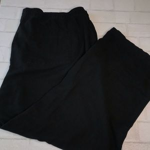 Linen Wideleg Drawstring Pants